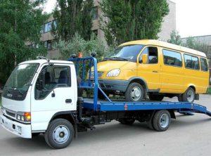 Эвакуация микроавтобусов в Харькове и области
