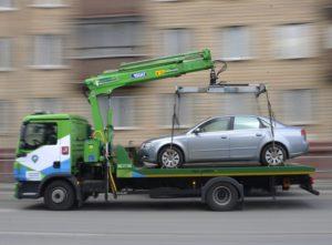 Методы эвакуации автомобилей