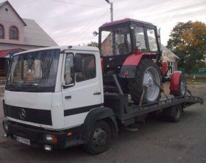 Эвакуация трактора в харьковской области